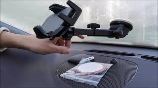 Handyhalterung Auto | Unboxing | Review | Test | deutsch