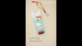 How To Make Hand-Stamped Gift Tags - Inspirational Tutorial