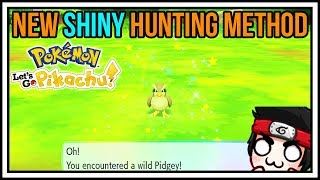 NEW SHINY HUNTING METHOD in Pokemon Let's Go Pikachu - Let's Go Eevee - Shiny Hunting Guide