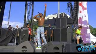 "King Combs Performs ""How You Want It"" And ""Love You Better"" Live At Baltimore AFRAM"