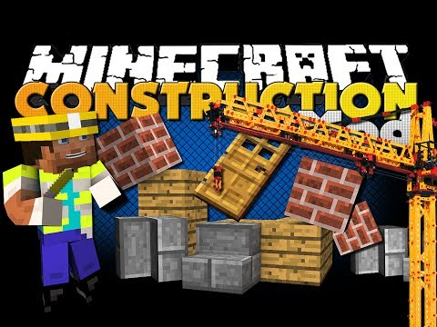 Minecraft Mod - Construction Mod - Build Houses Faster