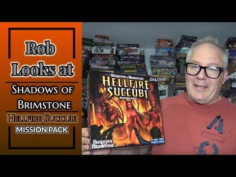 Rob Looks at Shadows of Brimstone: Hellfire Succubi Mission Pack