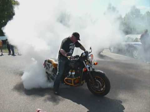 Burnout Goldwing Treffen