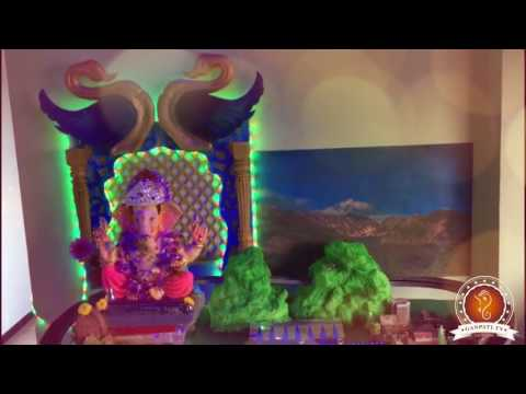 Rohan Sahare Home Ganpati Decoration Video