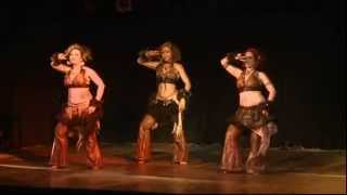 Las Hermanas Bellydance Baby Elephant Walk at Belly Beats Dance Spectacular 2013