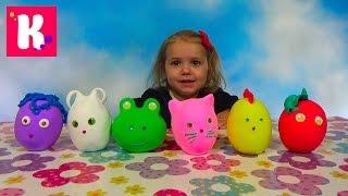 Заводныне Животные сюрпризы / Обзор игрушек