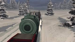 Rusyanın karlı yolları
