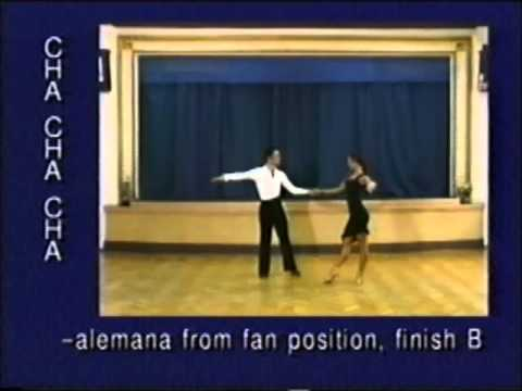 Cha-cha Dance Steps 09. Alemana From Fan Position, Finish B Mp3