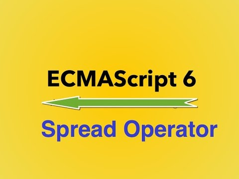 6-  ES6 ||  Spread Operator