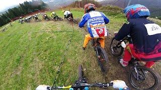 24h Downhill Race. Start
