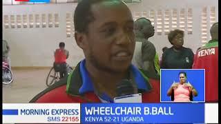 Kenya women beat Uganda in Wheelchair Basket Ball finals