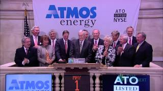 Atmos Energy Corporation Celebrates 25th Anniversary of Listing