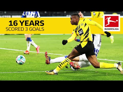 Youssoufa Moukoko – All Goals of the 16 Year Old BVB Striker So Far
