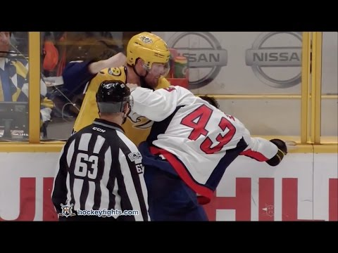 Tom Wilson vs Mike Fisher