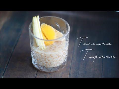 Готовим полезный десерт из тапиоки #StayHome & Cook #WithMe постный пудинг из тапиоки
