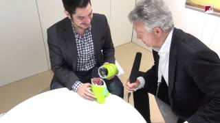 CeBIT 2015: Spielzeugdino mit IBM-Watson-Technologie