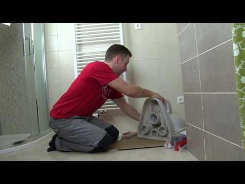Montáž závěsného WC značky Jika