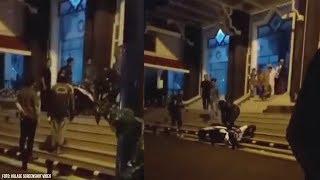 Video Pria Banting Motornya karena Tak Boleh Parkir Depan Pintu Masjid, 'Astagfirullah, Kunaon?'