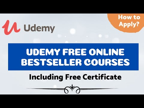 Udemy Free Online Certification Courses 2020 | 23+ Free Courses ...