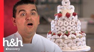 Pastel de donas para una despedida de soltera | Cake Boss | Discovery H&H
