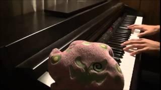 ピアノ「アシタカとサン+α」  もののけ姫 弾いてみた