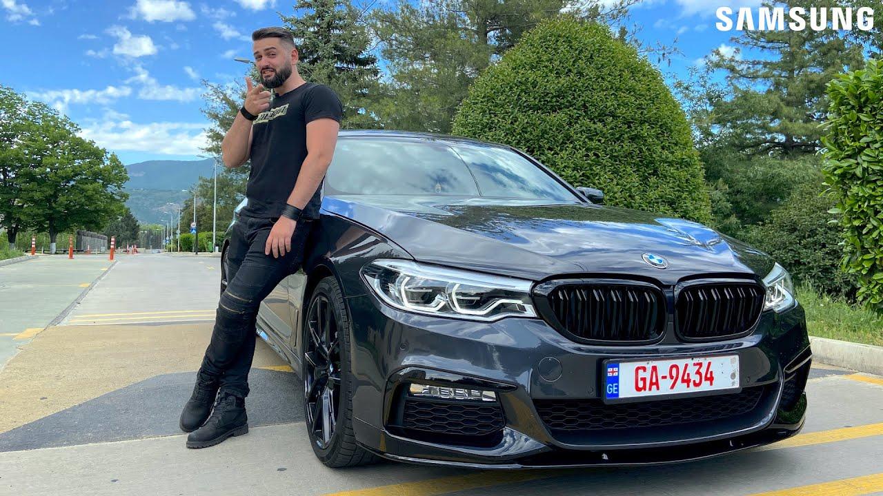"""უხეში ტესტ დრაივი – BMW G30 530i – ადამიანური """"ცხაურით"""". 4K"""
