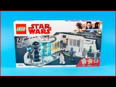 LEGO STAR WARS 75203 Hoth Medical Chamber Construction Toy - UNBOXING