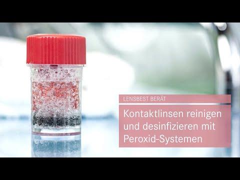 Kontaktlinsen reinigen und desinfizieren mit Peroxid-Systemen - Tipps von Lensbest