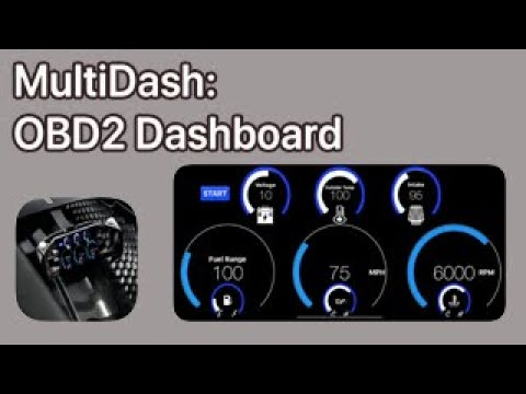 Under $10 for The Best Car/Automotive OBDII Digital Dashboard iPhone iOS App