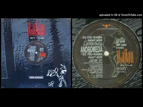 Andromeda – Do You Wanna Right Now (Panic Mix – 1994)