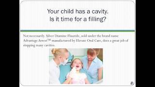 Silver Diamine Fluoride at Caring Tree Children's Dentistry