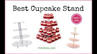 Best Cupcake Stand (2020 Buyers Guide)