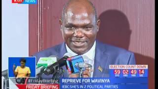 George Odunga over rules IEBC's decision and reinstates Wavinya Ndeti's aspirations for Machakos