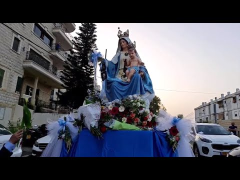 VIDEO: Procession of Our Lady of Carmel in Haifa