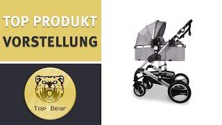 ✅ Daliya Bambimo 3 in 1 Kinderwagen – Kombikinderwagen Riesen Set 14 teilig