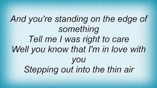 Aqualung - Thin Air Lyrics