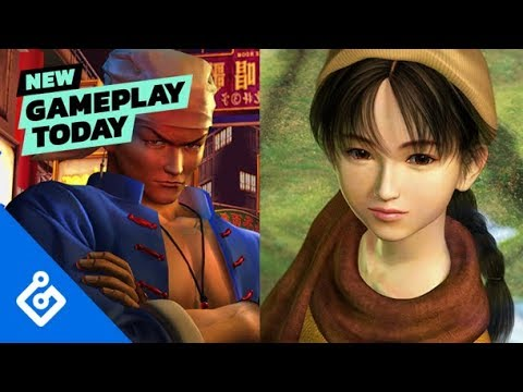 Gameplay de Shenmue I and II