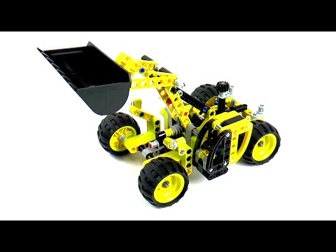 Vidéo LEGO Technic 42004 : Le tractopelle