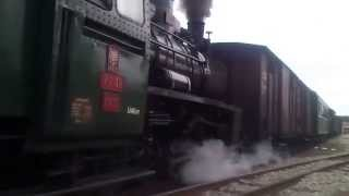 preview picture of video 'Parní vlak - úzkokolejka Jindřichův Hradec - Nová Bystřice'