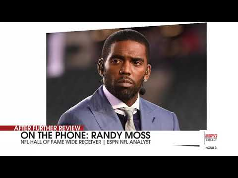 Randy Moss on watching his son's first catch at LSU