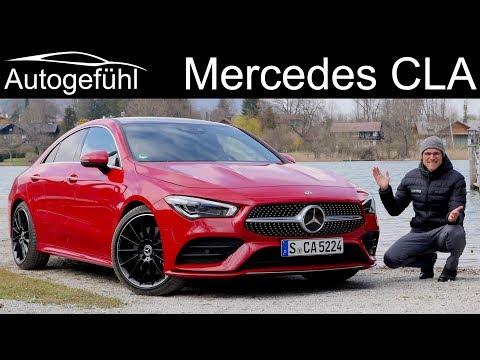 Mercedes CLA FULL REVIEW all-new 2020 CLA 250 Coupé - Autogefühl