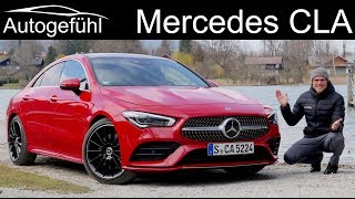 Mercedes CLA FULL REVIEW all-new 2020 Coupé - Autogefühl