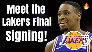 Meet the Los Angeles Lakers FINAL Roster SIGNING!   Russell Westbrook-lite Next to LeBron James!