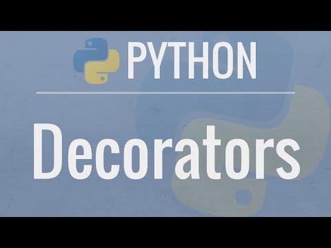 Python tutorial decorators dynamically alter the for Decorator python