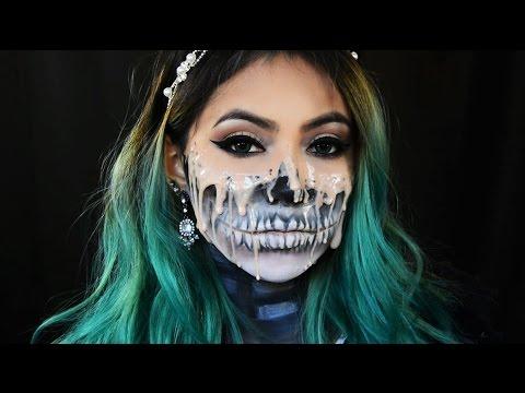 Melting into Skull Makeup
