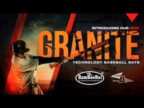 2017 BamBooBat GRANITE 243 BBCOR Wood Baseball Bat: GR-243