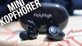 Holyhigh Bluetooth Kopfhörer Headset Stereo-Minikopfhörer Kopfhörer in Ear REVIEW