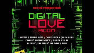 Digital Love Riddim - mixed by Curfew 2012