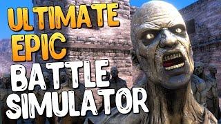 1000 ЖУТКИХ ЗОМБИ ПРОТИВ ЧАКА НОРРИСА - Ultimate Epic Battle Simulator