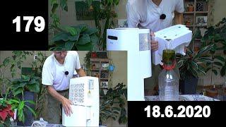 Zimmerpflanzen Spezial. Raumluftentfeuchter von ProBreeze erster Start um die Luftfeuchtigkeit